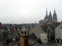 Вид на шпили собора