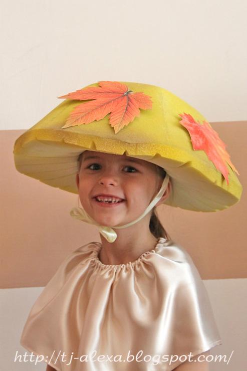 Как сделать ребенку шляпу гриба
