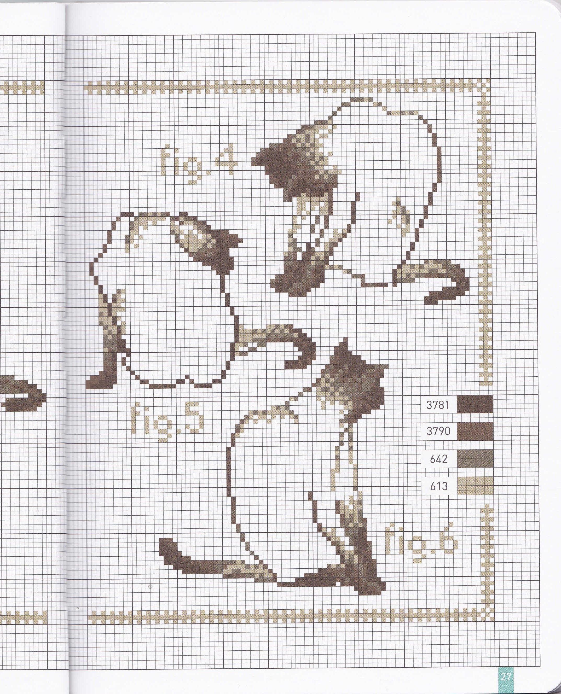 Схемы вышивки черно-белая вышивка крестом схемы6