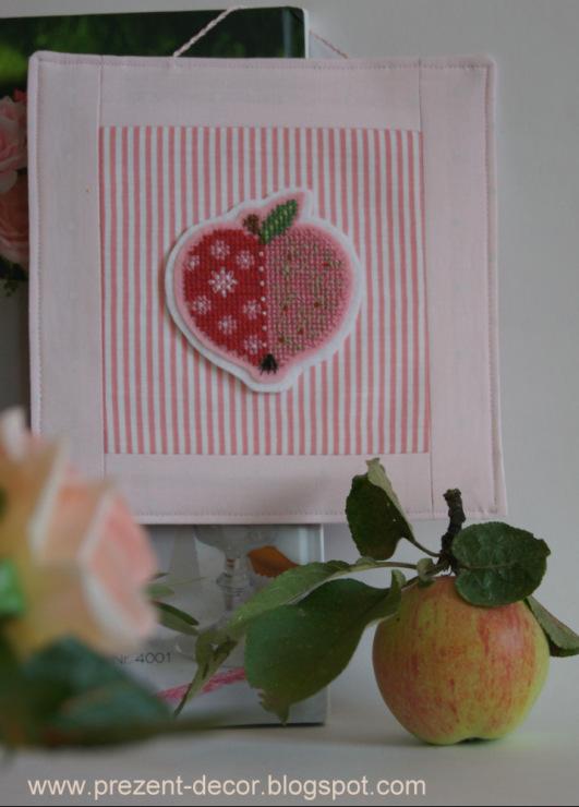 Вышивка крестом фирмы аленушка наливное яблочко