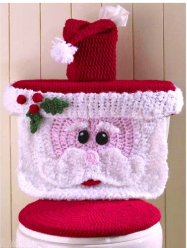 Santa Toilet Cover Christmas&NY