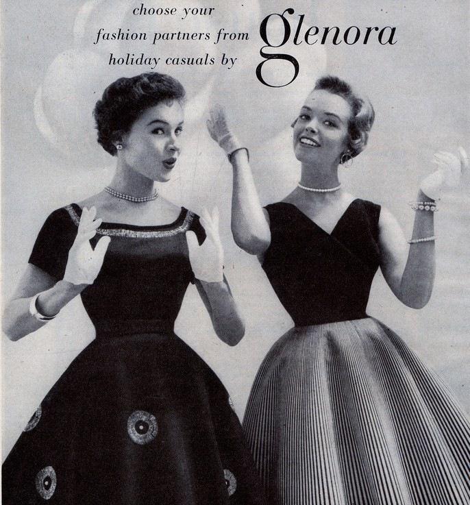 50-е, мода, стиль, тенденции, весна-лето 2012